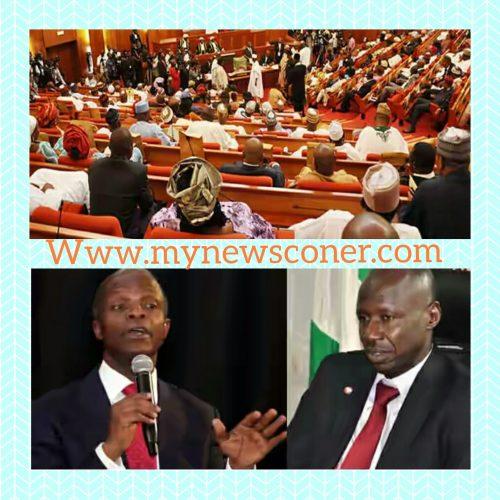 Senate To Osinbajo: Sack Magu Or Prepare to Contend with Us