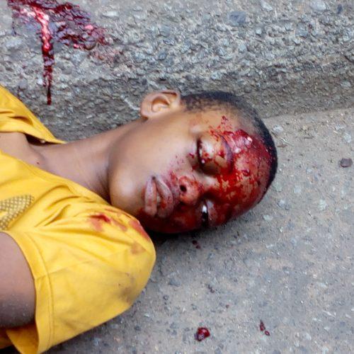 A Soul killed, others injured at EKEUKWU OWERRI market and Douglas road over demolition.