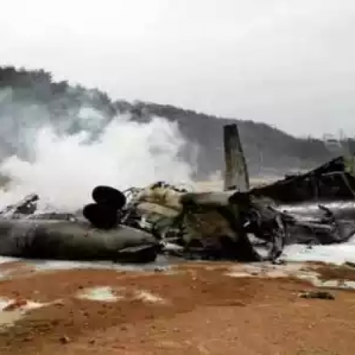 Pilot dies as NAF aircraft crashes in Kaduna