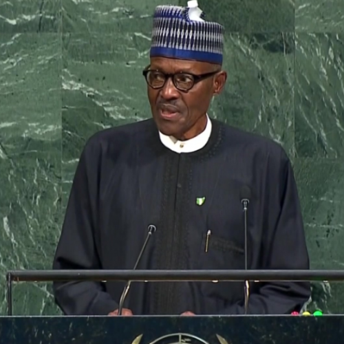 President Buhari fullSpeech at the United Nations General Assembly in New York, United States
