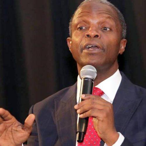 VP Osinbajo blames Churches for Corruption