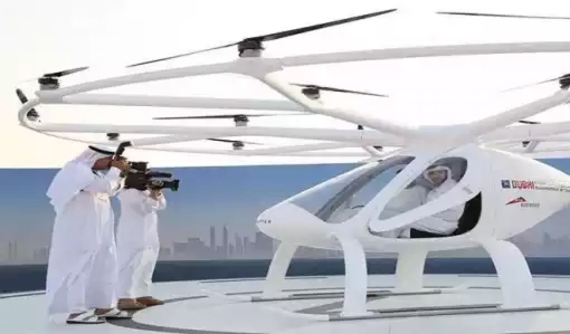 AVIATION: Dubai Makes History, Launches First Ever Self-flying Taxi Without a Pilot (Photos)