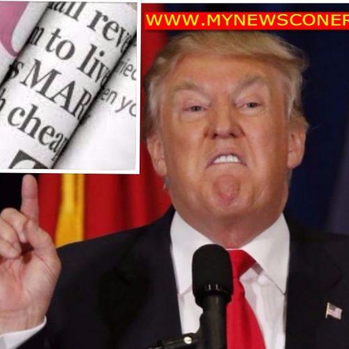 Breaking: Trump bans New York Times, CNN, LAT