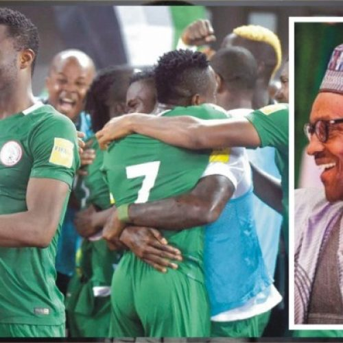President Buhari congratulates the Super Eagles on their 1-0 victory against Zambia