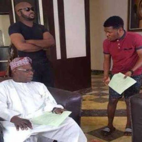 Obasanjo Joins Acting, debuts as actor in a new comedy skit