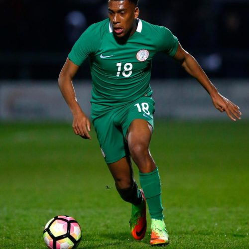 Victory: With Alex Iwobi magical strike, Nigeria become first African team to qualify for 2018 World Cup.