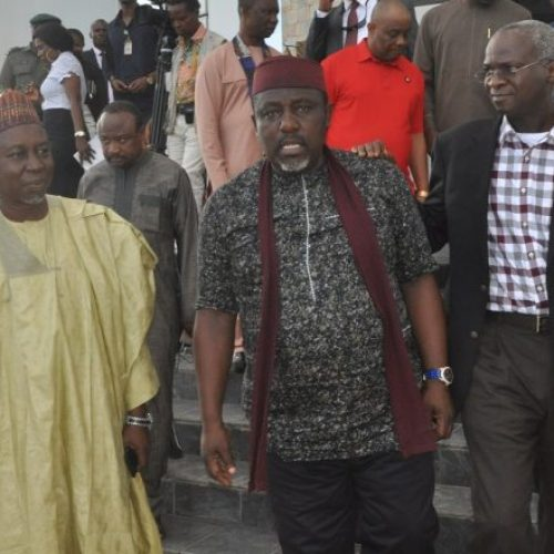 Problems of Owerri-Aba and Owerri,Port-Harcourt roads to be over soon -Rochas Okorocha