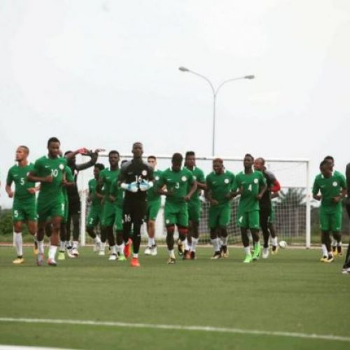 All is now set for today's 2018 FIFA World Cup qualifier between the Super Eagles and Algeria.