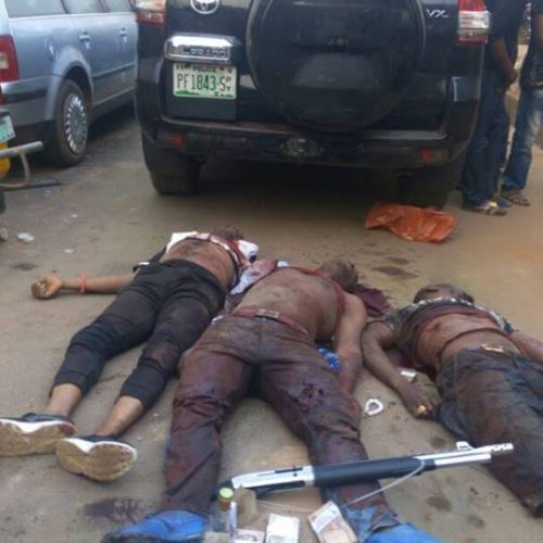 Imo Police Apprehends Notorious Armed Robbery and Kidnap Suspects, Recovers Arms and Ammonition