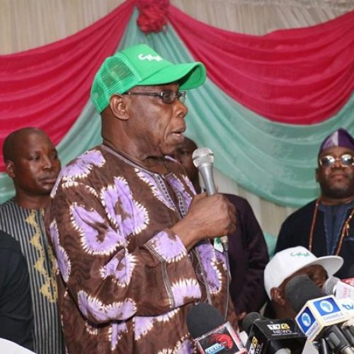 Former President Obasanjo clears air on registration of Coalition For Nigerian Movement