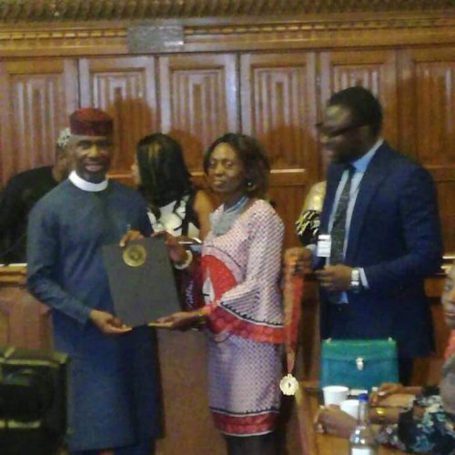 Uche Nwosu bags African Achievers Award in UK