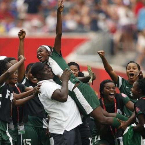 Nigeria's Super Falcons Defeat South Africa Win AWCON