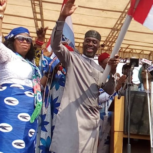 Imo 2019: Uche Nwosu Flags-Off Campaign, says he's out to Work