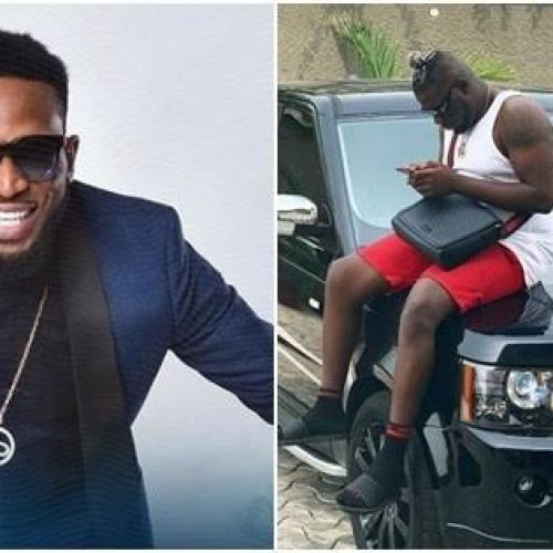 D'Banj Appreciates Producer Cheezy with Range Rover