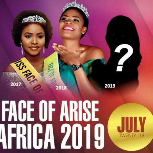 Face of Arise Africa Pageant 2019 to hold in Imo