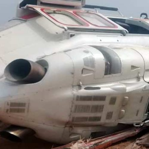 Osinbajo Escapes death as Helicopter Crash-Lands In Kogi State