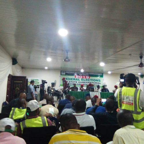 Imo Guber Turns War: Collation Ends Midway in Fight, Result Sheets destroyed