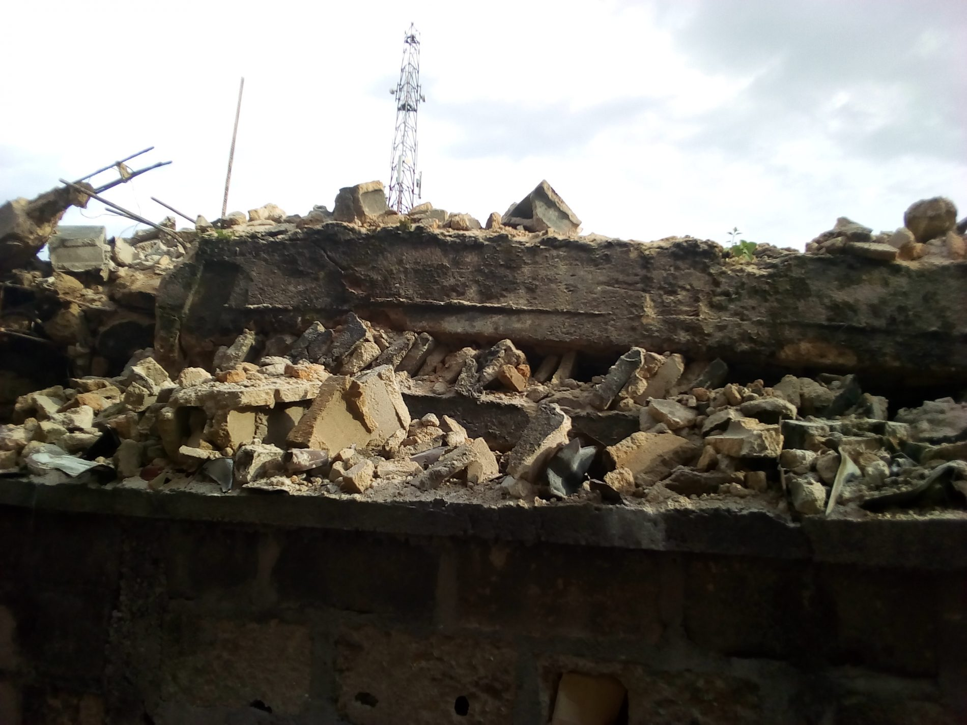 Four Feared Dead In Uncompleted Two-Storey Building Collapse in Owerri