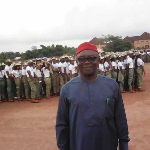 Nze Nwadike Charge Corp Members to be Diligent in Service to Fatherland
