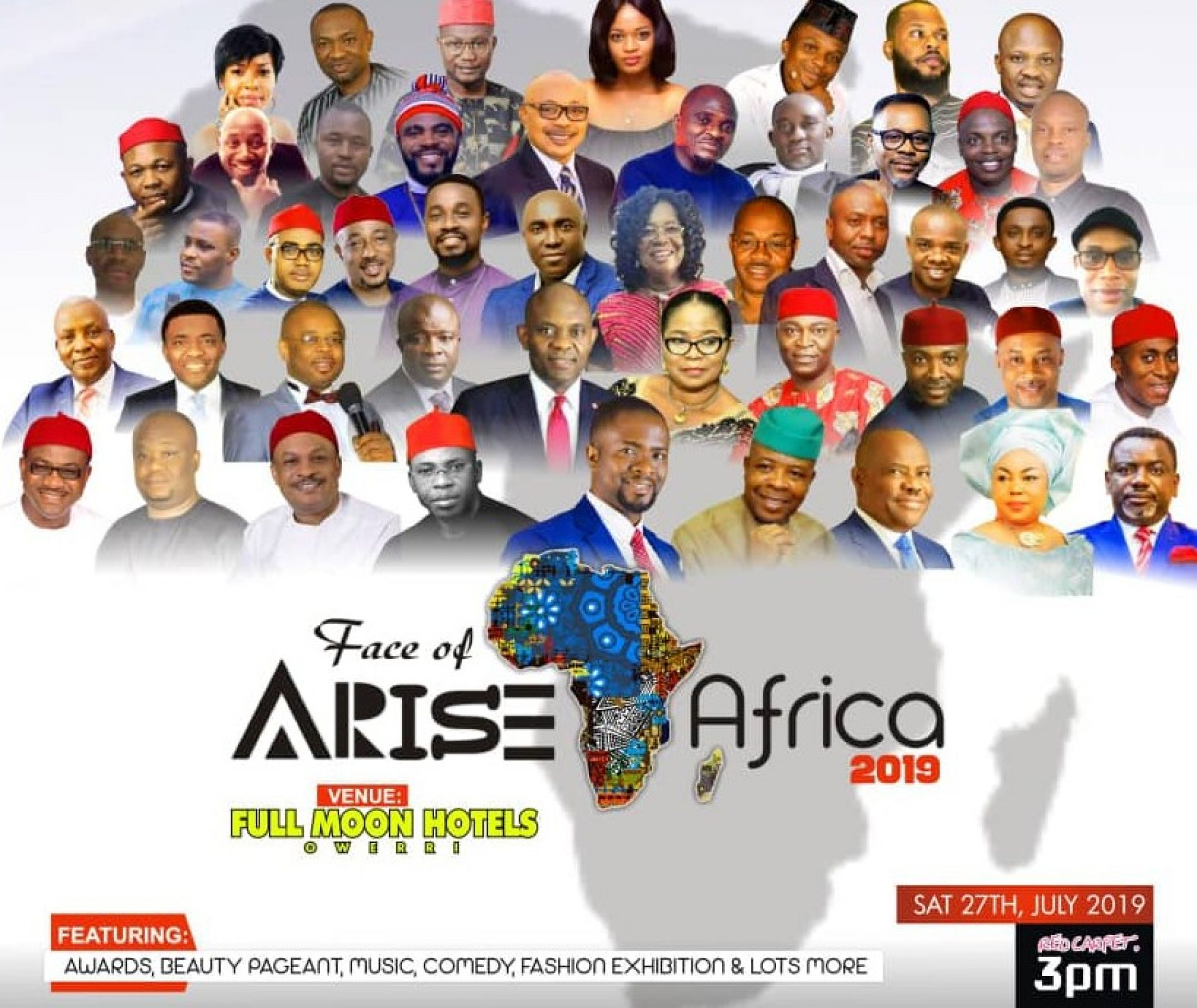 FAA Awards: Arise Afrika Magazine Storms Imo to Crown Africa's Finest, Intellectuals.