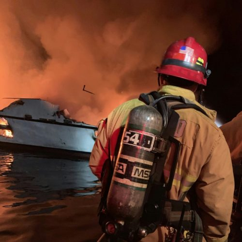 Eight Dead, 26 Missing as Dive Boat Sinks in Flames Off California