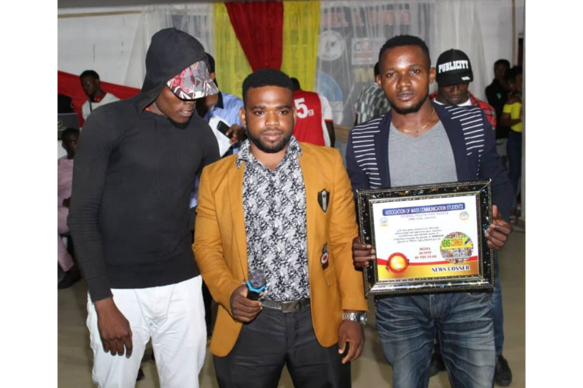 "News Corner Media Bags ""Media Outfit of the Year"" Award"