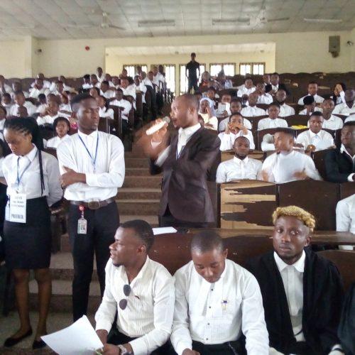 FEDPONEK SJC Inaugurates Student Barristers