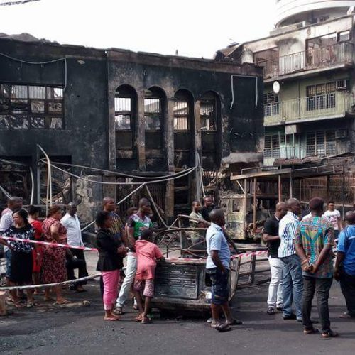 Igbo Youth Assembly Worldwide Donates Relief Funds to Onitsha Market Fire Victims