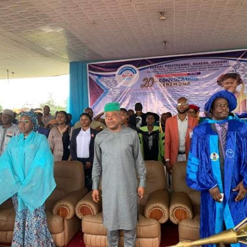 Federal Poly Nekede 20th Convocation Held Amidst Jubilation