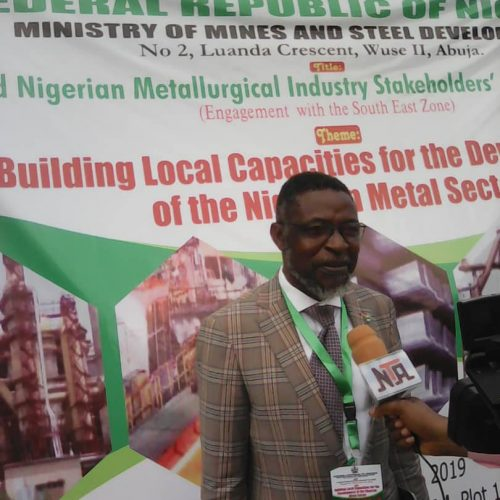 Prof Remmy Uche Stresses Need for Improved Metallurgical Economy