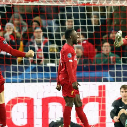 Liverpool Survive Salzburg Test To Reach Champions League Last 16