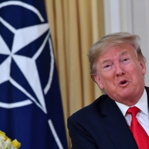 """Trump Launches NATO Meet with Attack on """"nasty"""" France"""