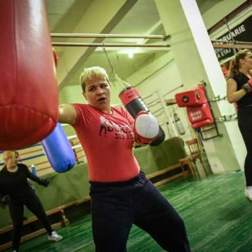 Romanian Boxer Inspires Girls to Knock Out Poverty