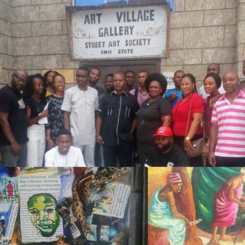 Art Street Artists Request Financial Support from Government