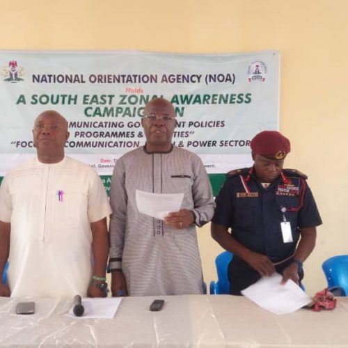 NOA Holds Awareness Campaign on Communicating Govt. Policies, Programmes in South East