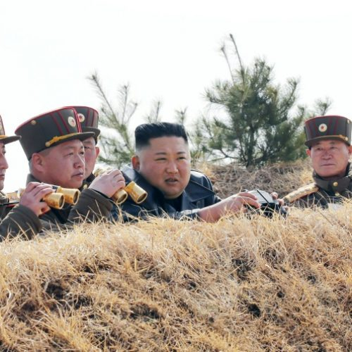 North Korea fires two 'ballistic missiles' into sea