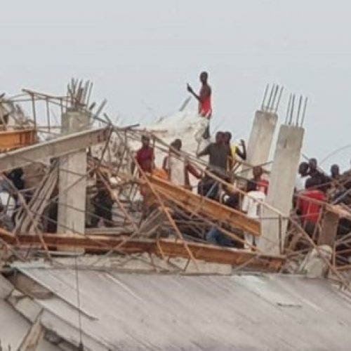Two Dead As Eight-Storey Building Collapses In Imo