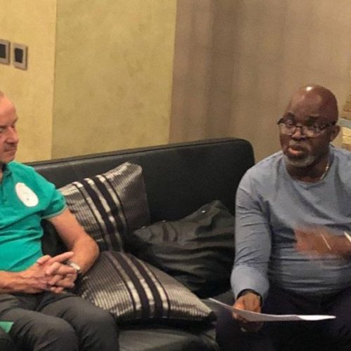NFF To Finalise Gernot Rohr's Contract This Week
