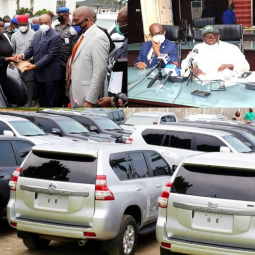 Gov Uzodinma Splashes Vehicle Gifts to Imo State Judges, Calls For Synergy With Other Arms of Government