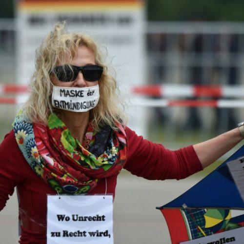 Fresh Protests Against Virus Measures Held in Germany