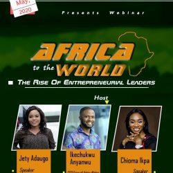 Arise Africa Holds Entrepreneurial Training Webinar,  Promises Sponsorship To Youths