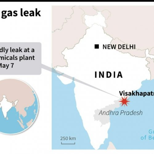 5 Dead, Hundreds in Hospital After Gas Leak at India Chemical Plant