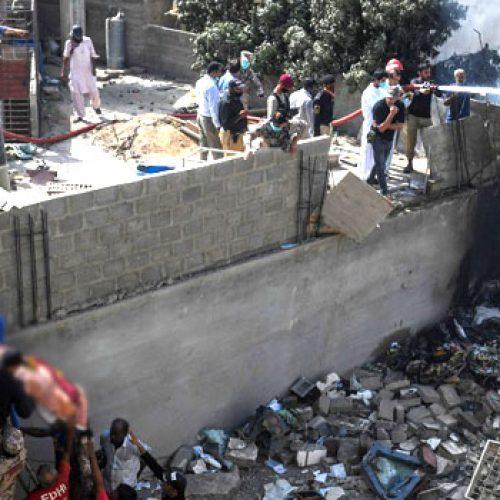 Fully-Loaded Passenger Plane Crashes In Pakistan
