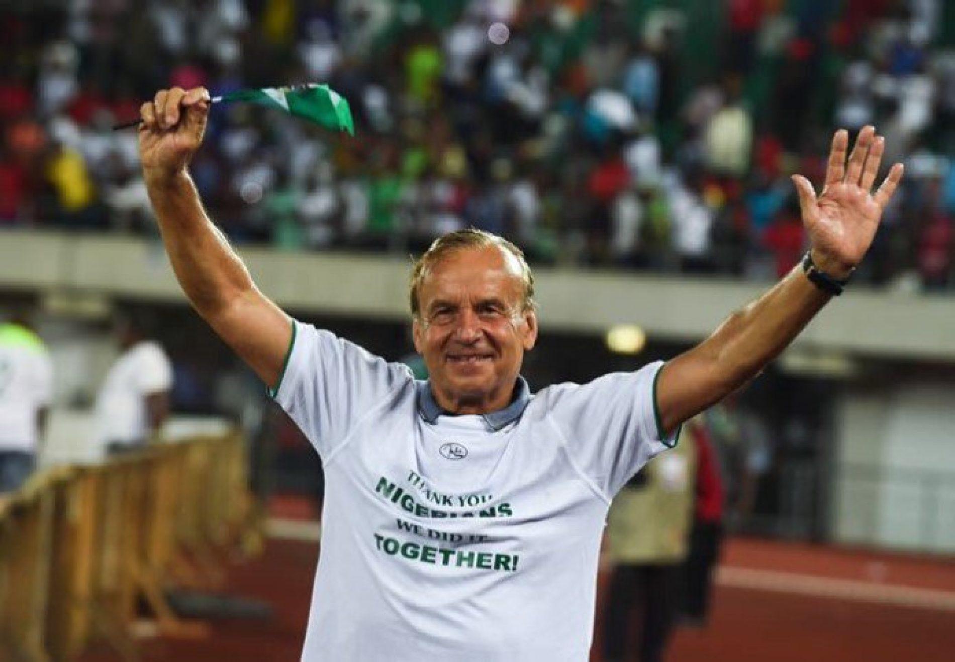 Super Eagles Manager, Gernot Rohr, Signs New Deal