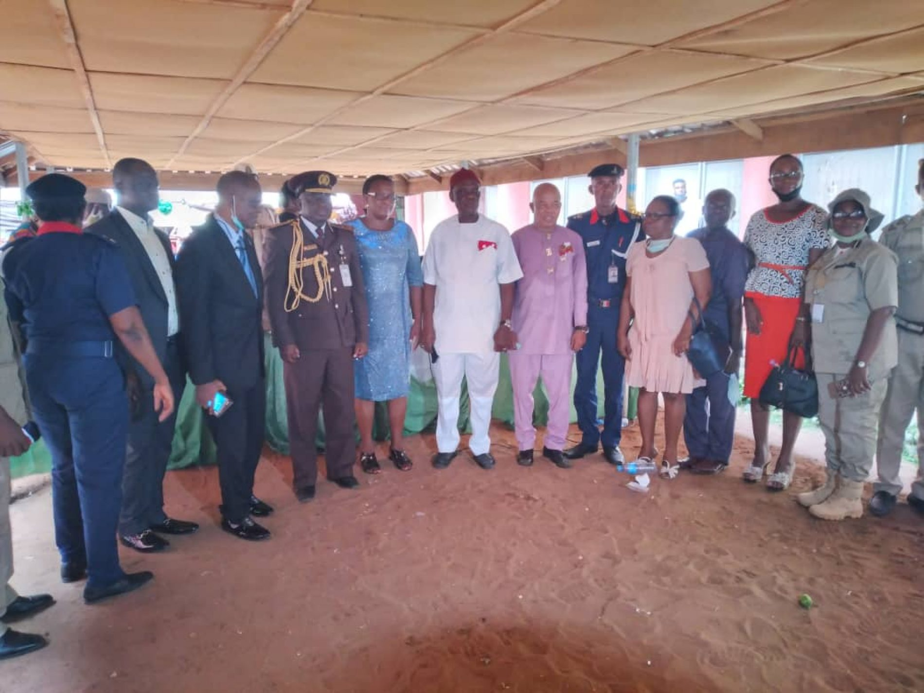 Joyous: Imo Comptroller of Immigrations, Ringshum Retires at 35 Years Service