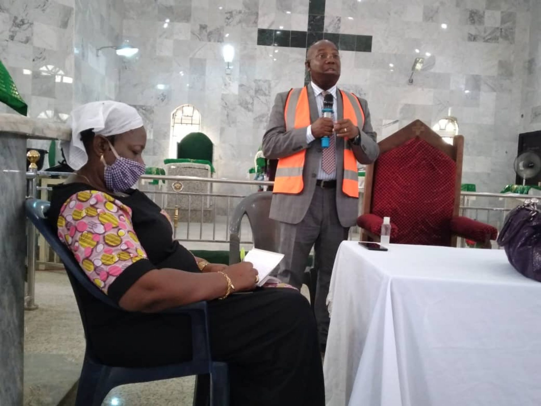 NOA Seeks Partnership With Churches, Other Stakeholders To Tackle COVID-19
