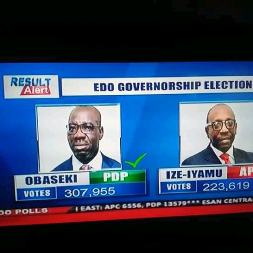 EDO POLLS: The Beginning Of The Death Of A Leviathan