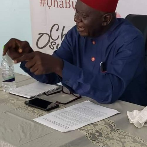 Ohaneze Ndigbo: Prof Osuagwu Declares For Presidency, Promise To Restore Igbo Glory, Seek New Deal, Arrangement For Igbos