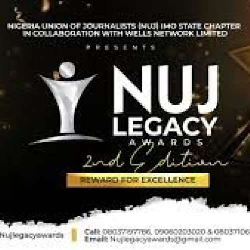 Imo NUJ Hosts 2020 Legacy Awards Wednesday 18 November, Douse Tension