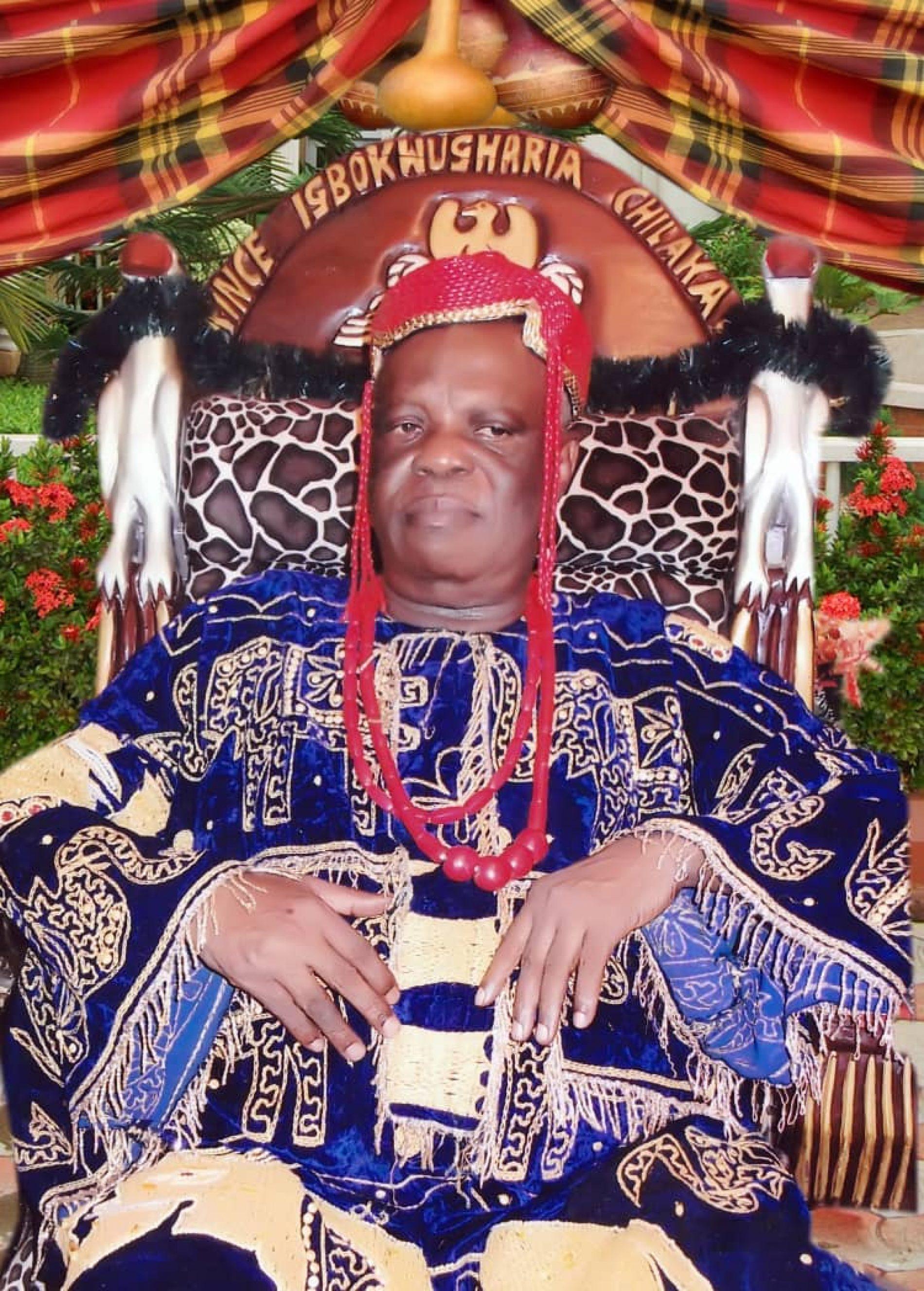 High Chief Igbokwugharia Chilaka goes home Dec 26